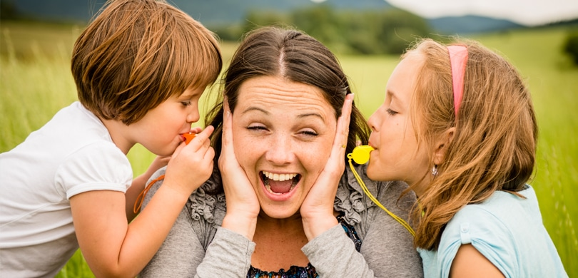Spielen kann oft laut werden (Quelle: Shutterstock)