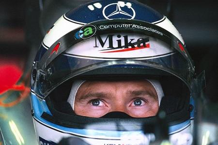Formel 1-Weltmeister Mika Haekkinen früher