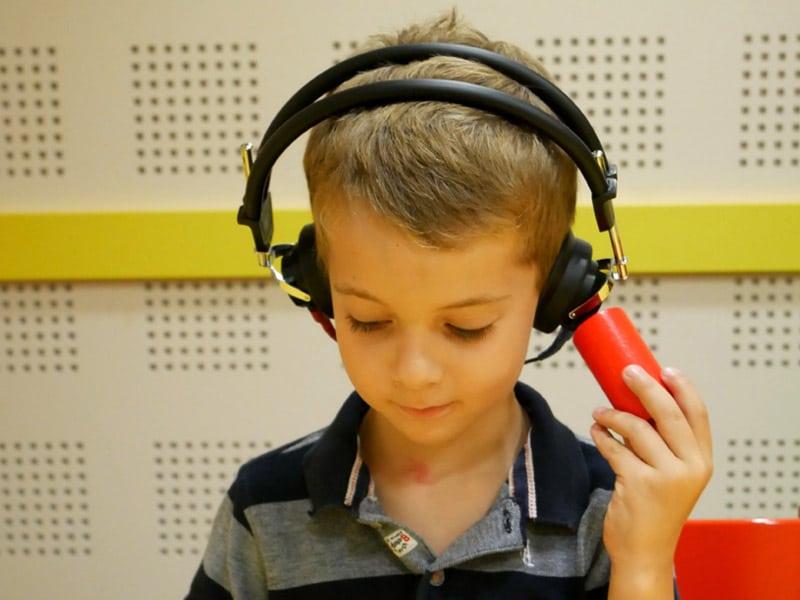 Hörtest beim Hörakustiker