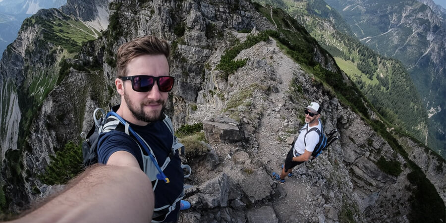 Mit Hörgeräten auf den Berg